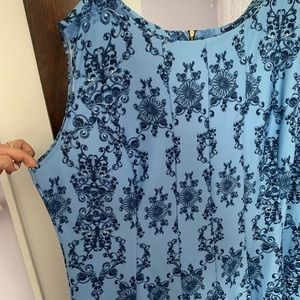 Never been worn blue dress